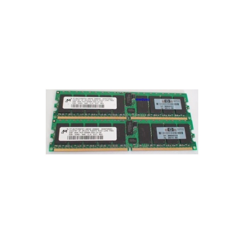 HP 345114-861 2GB PC2-3200 DDR 400MHZ DIMM